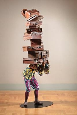 Yinka Shonibare, MBE (British-Nigerian, born 1962), Homeless Child, 2012